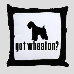 got wheaten? Throw Pillow