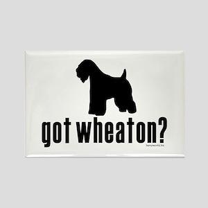 got wheaten? Rectangle Magnet (10 pack)