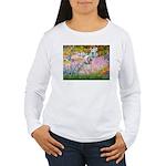 Garden / Lhasa Apso Women's Long Sleeve T-Shirt
