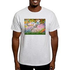 Garden / Lhasa Apso T-Shirt
