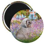 Garden / Lhasa Apso Magnet