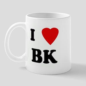 I Love BK Mug