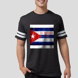 La Habana Cuba Flag T-Shirt