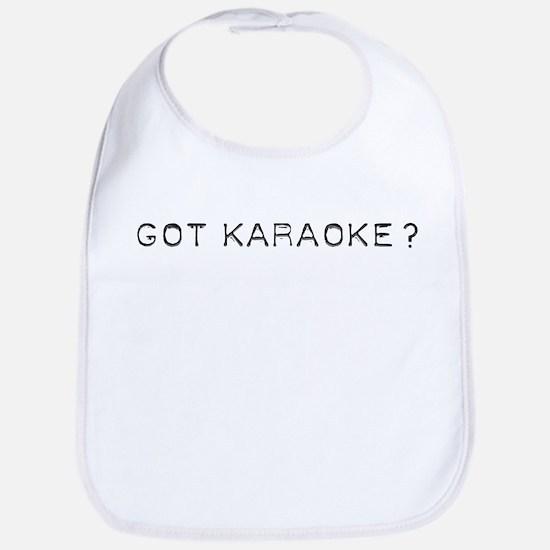 Got Karaoke Design Bib