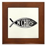 Fish n' Chips Framed Tile