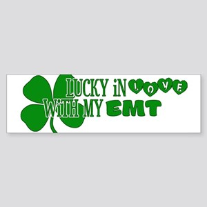 Lucky In Love Bumper Sticker
