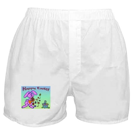 Easter Bunny French Horn Boxer Shorts