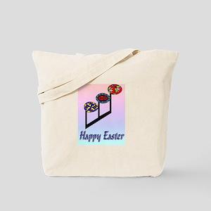 Easter Egg Notes Tote Bag