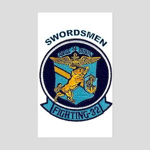 VF 32 / VFA 32 Swordsmen Rectangle Sticker
