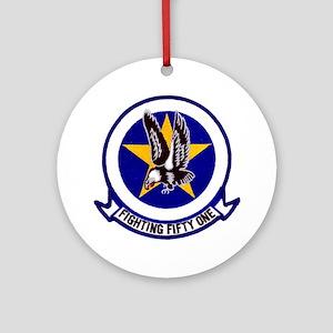 VF 51 Screaming Eagles Ornament (Round)