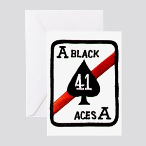 VF 41 / VFA 41 Black Aces Greeting Cards (Pk of 10