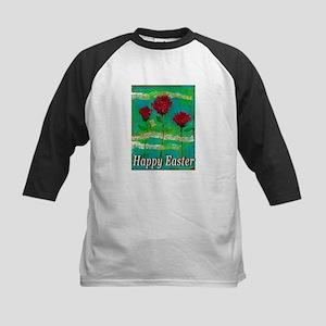Easter Rose Kids Baseball Jersey