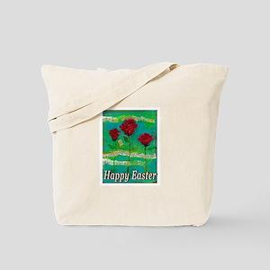 Easter Rose Tote Bag
