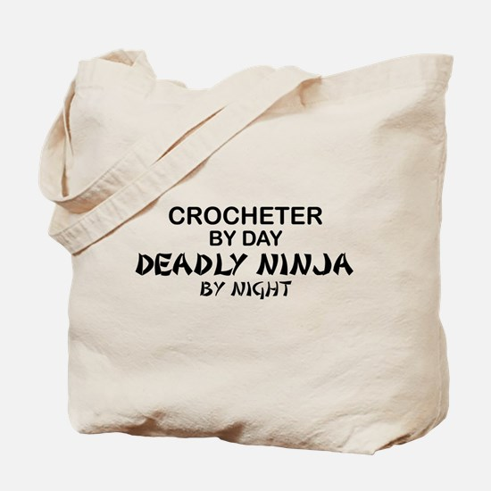 Crochet Deadly Ninja Tote Bag