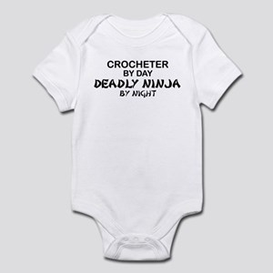 Crochet Deadly Ninja Infant Bodysuit