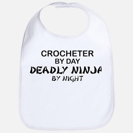 Crochet Deadly Ninja Bib