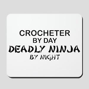 Crochet Deadly Ninja Mousepad