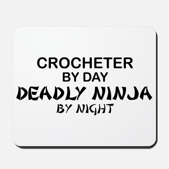 Crochet Deadly Ninja Mousepad