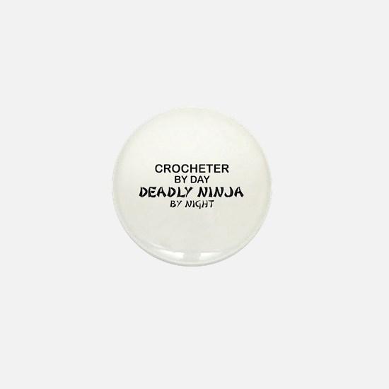 Crochet Deadly Ninja Mini Button