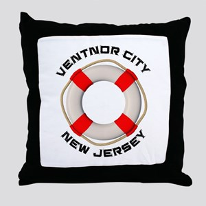 New Jersey - Ventnor City Throw Pillow