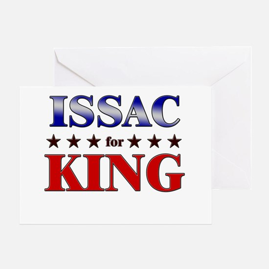 ISSAC for king Greeting Card