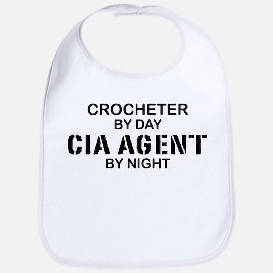 CIA Agent by Night Bib