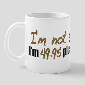 49.95 plus tax (50th B-Day) Mug