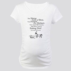 Bad Horse Day Maternity T-Shirt