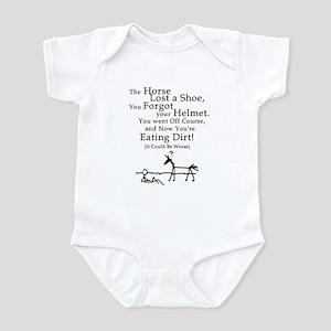 Bad Horse Day Infant Bodysuit