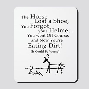 Bad Horse Day Mousepad