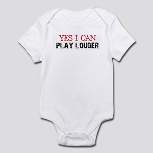 Yes, I Can Play Louder Infant Bodysuit