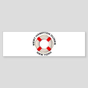 New York - West Hampton Dunes Bumper Sticker