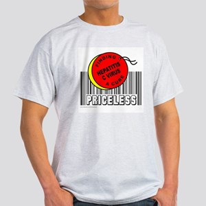 HEPATITIS C VIRUS FINDING A CURE Light T-Shirt
