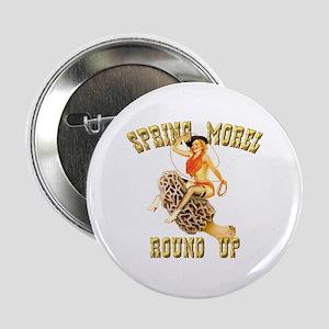 "spring morel round up 2.25"" Button"