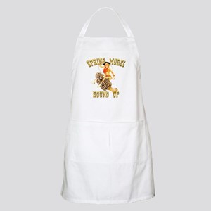 spring morel round up BBQ Apron