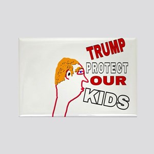 TRUMP PROTECT OUR KIDS Magnets