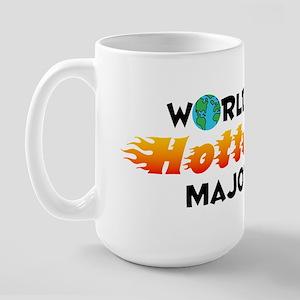 World's Hottest Major (C) Large Mug