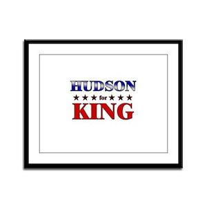 HUDSON for king Framed Panel Print
