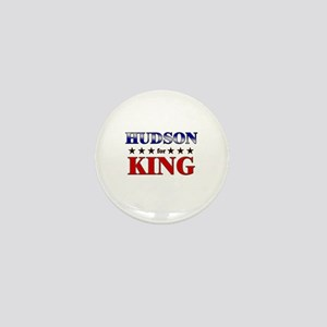 HUDSON for king Mini Button