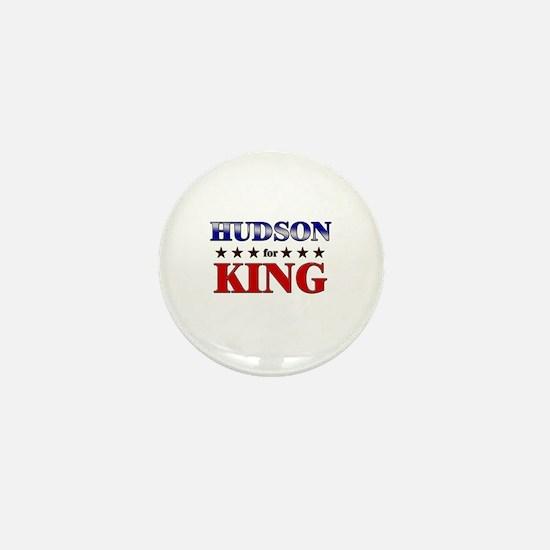 HUDSON for king Mini Button