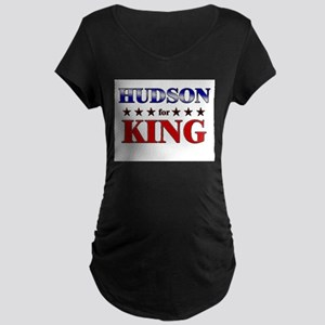HUDSON for king Maternity Dark T-Shirt