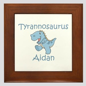 Tyrannosaurus Aidan Framed Tile