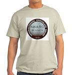 2013 Chocolate Award Winner Natural T-Shirt