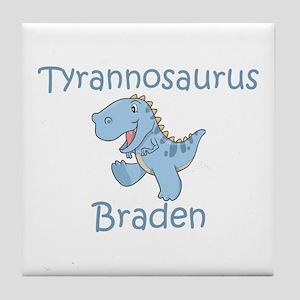 Tyrannosaurus Braden Tile Coaster