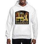 Baroque Harpsichord Hooded Sweatshirt