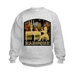 Baroque Harpsichord Kids Sweatshirt