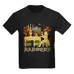 Baroque Harpsichord Kids Dark T-Shirt