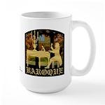 Baroque Harpsichord Large Mug