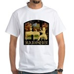 Baroque Harpsichord White T-Shirt