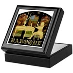 Baroque Harpsichord Keepsake Box